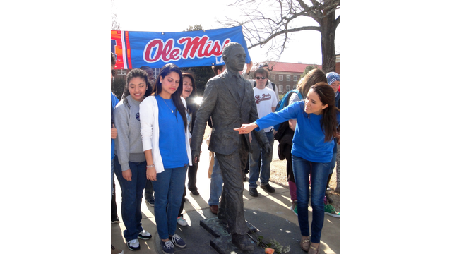 james meredith ole miss statue