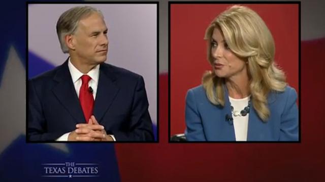 In Debate, Abbott Gets Aggressive
