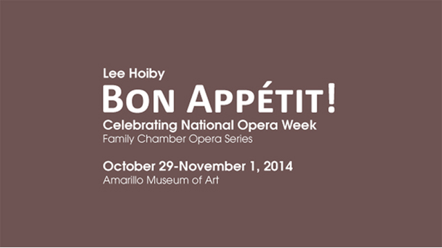 "Amarillo Opera ""Bon Appétit!"""