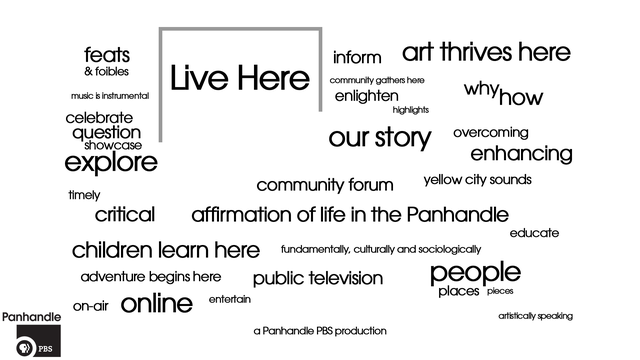 'Live Here' to tell Panhandle story