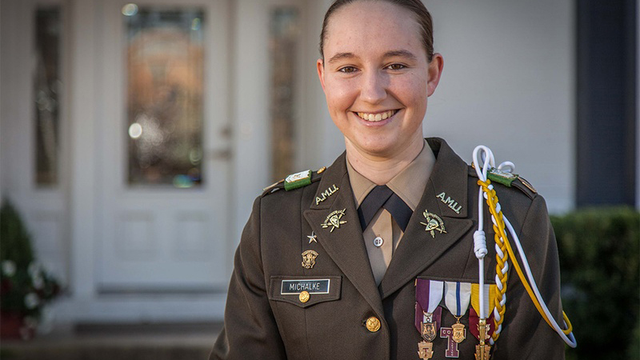 First Woman Assuming Command of A&M Corps