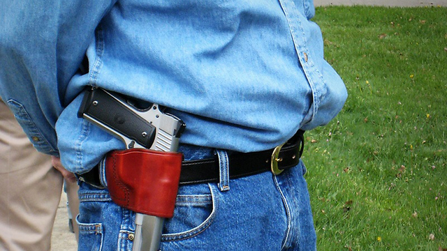 Open Carry Wins Final Passage in House