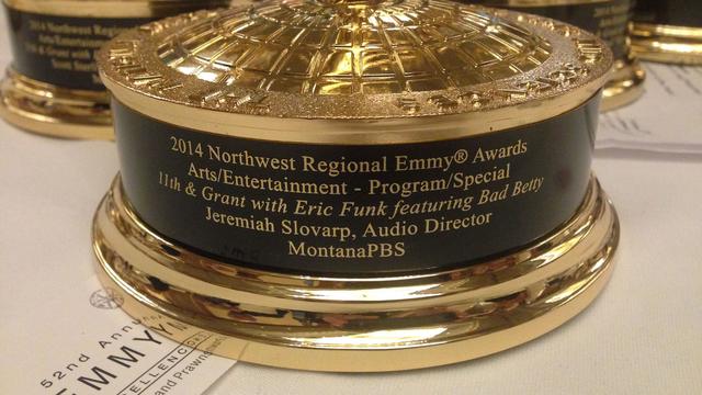11th & Grant with Eric Funk Receives 2014 Northwest Regional Emmy® Award