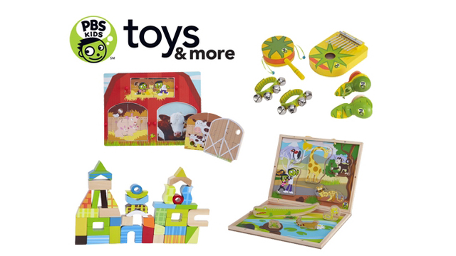 PBS Introduces First PBS KIDS Toy Line