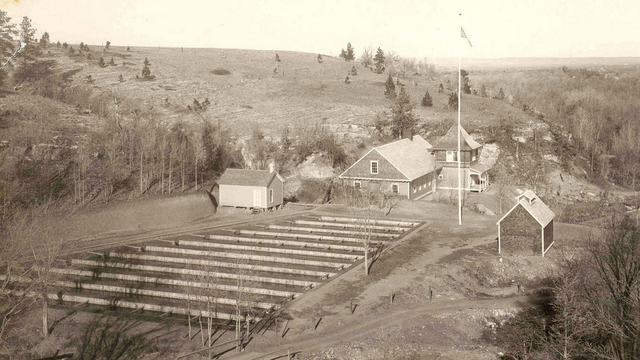 The d c booth historic national fish hatchery archives for Spearfish fish hatchery