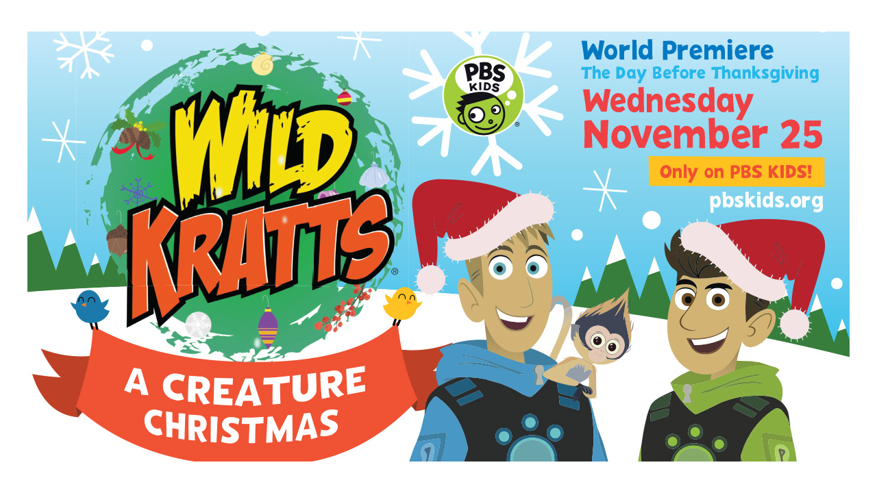 WUCF KICKS OFF FULL SLATE OF PBS KIDS HOLIDAY PROGRAMMING WITH THE ...