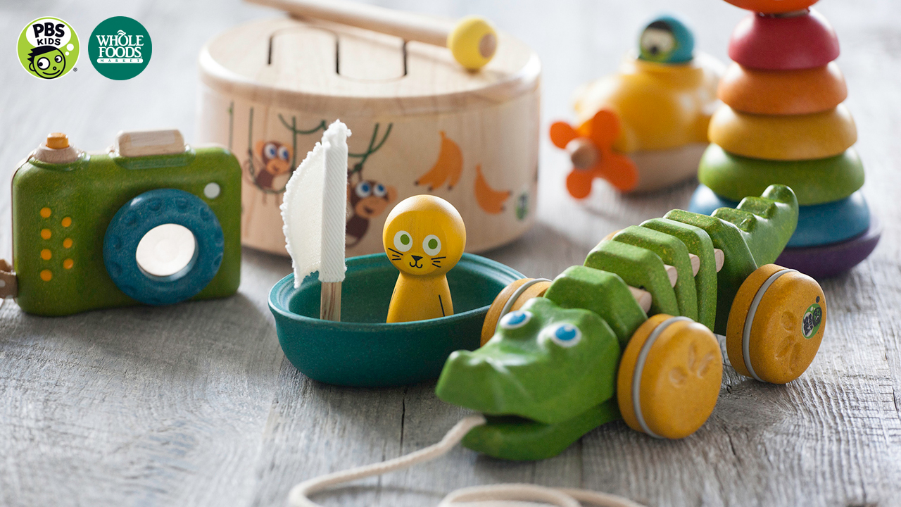 Toys For Holiday : Pbs kids partners with whole foods market to launch new