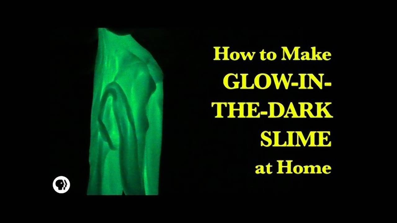 How To Make Glow In The Dark Slime Sdpb