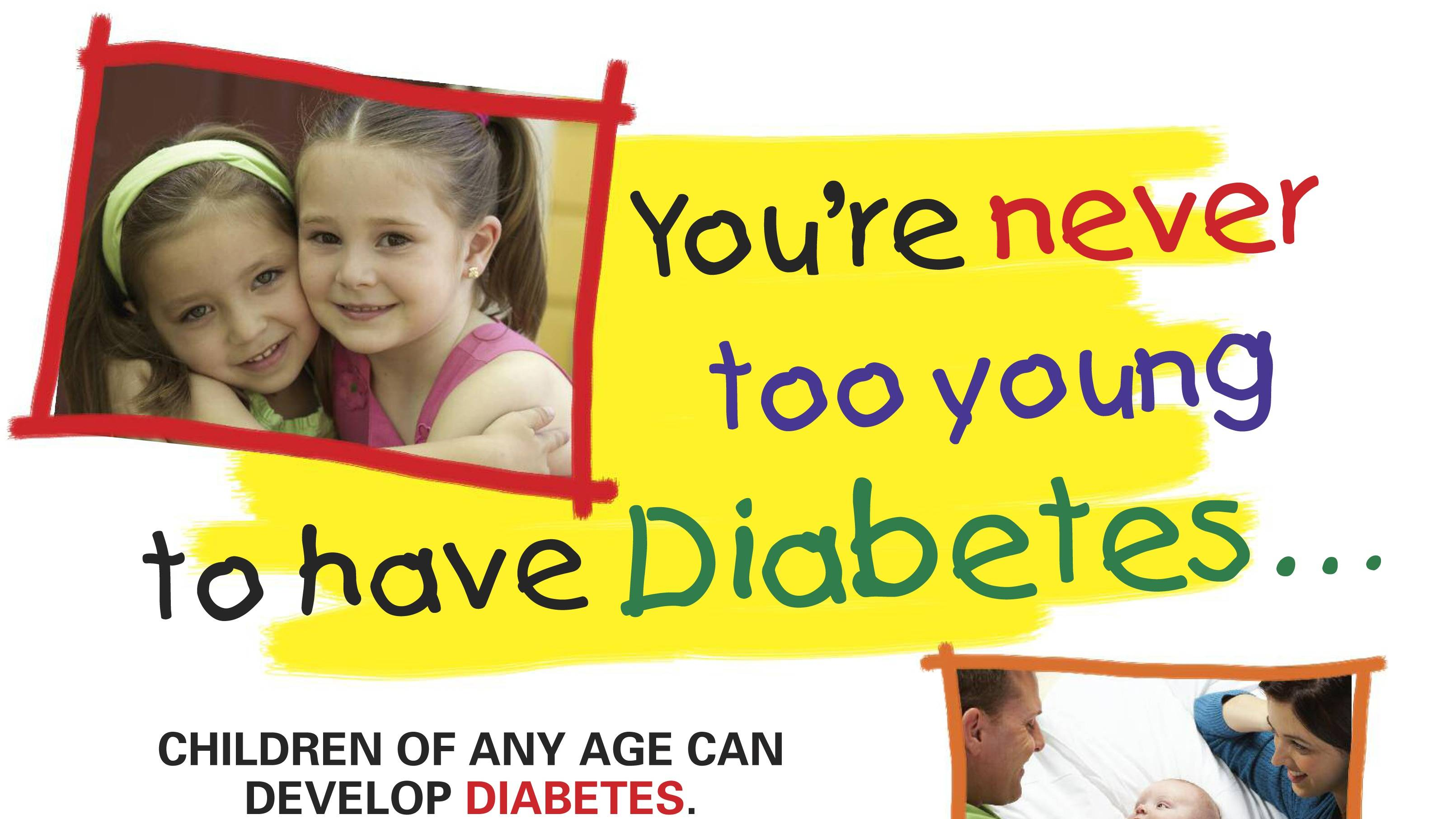 children diabetes Learn about symptoms, causes, tests and treatment for diabetes, the disease in which blood sugar levels are too high includes type 1 and type 2 diabetes.