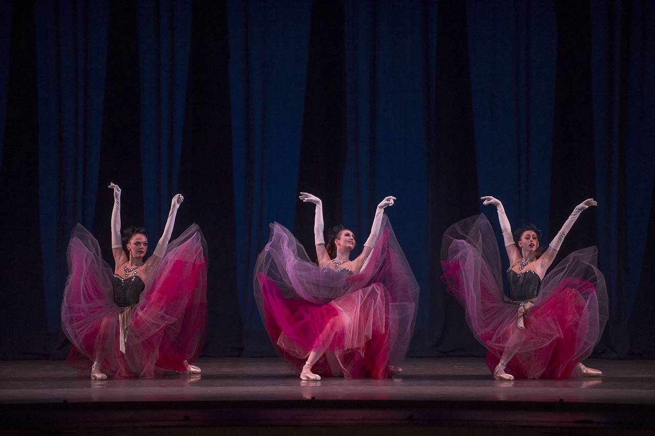 Two part special celebrating new york city ballet in paris for Oeta schedule