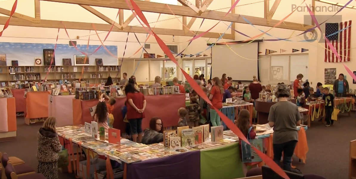 Area students enter the summer armed with free books
