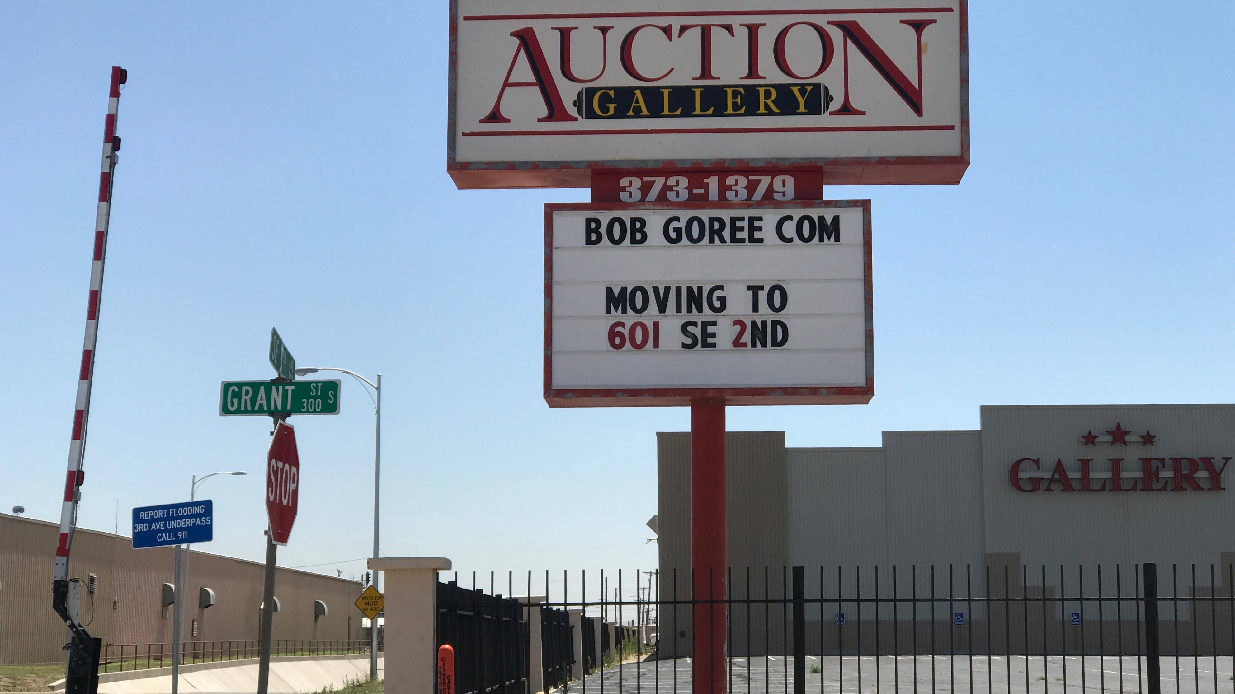 Auctioneer to leave Santa Fe Depot behind