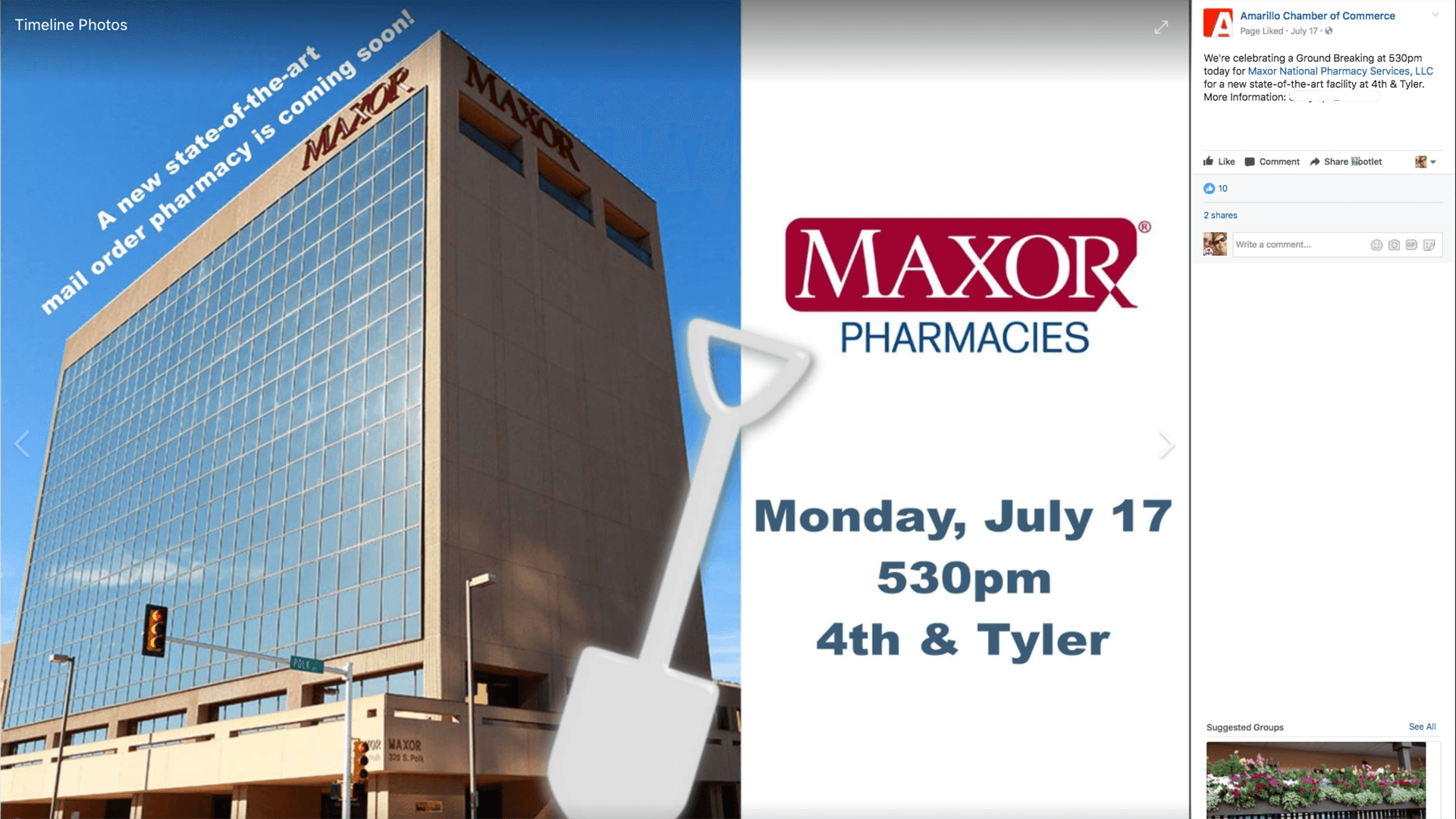 Maxor has a new prescription for downtown Amarillo