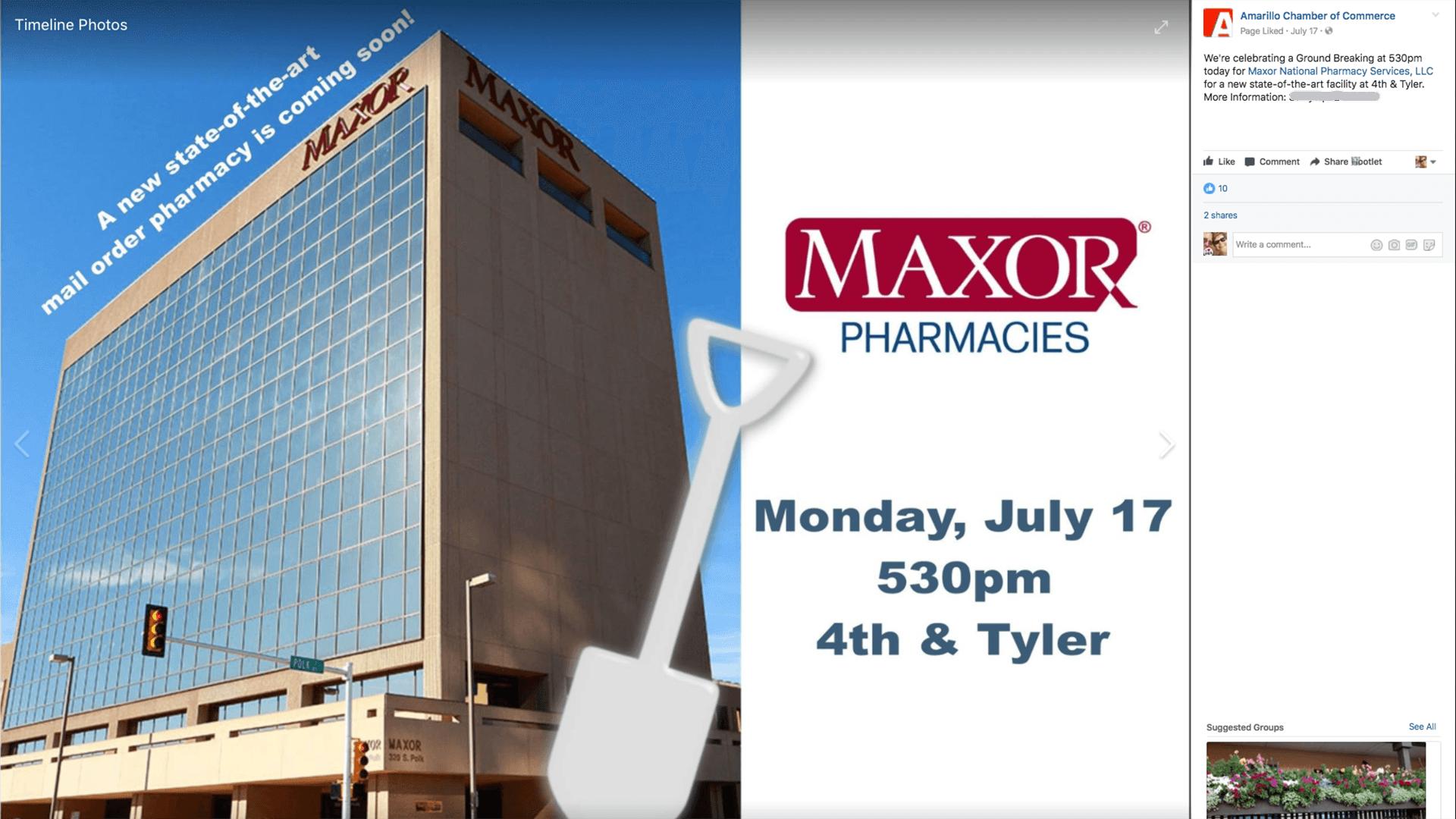 Maxor has a new prescription for downtown Amarillo