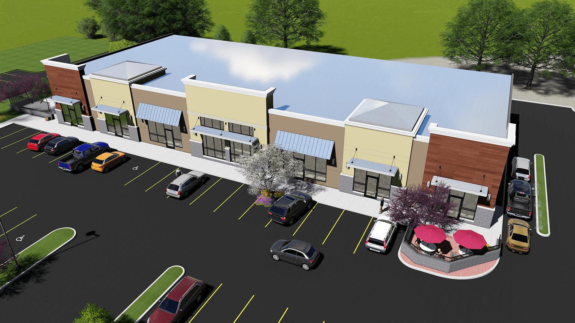New life for Gem Lake retail center
