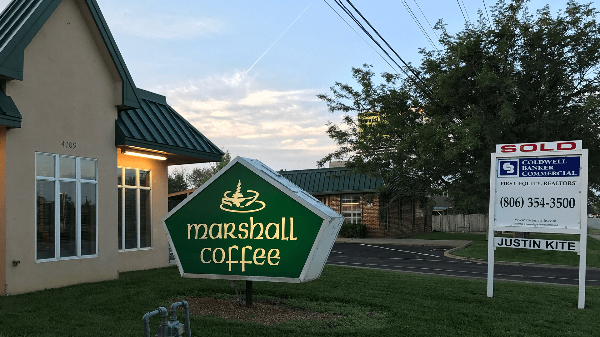 Marshall Coffee Co. makes its exit