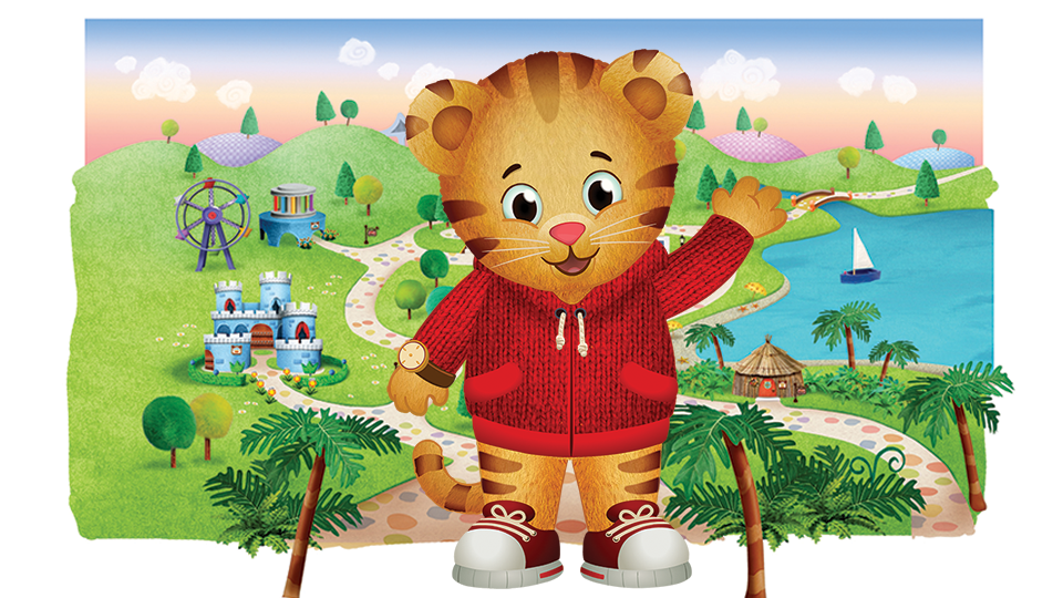 This is an image of Nerdy Daniel Tiger Pictures