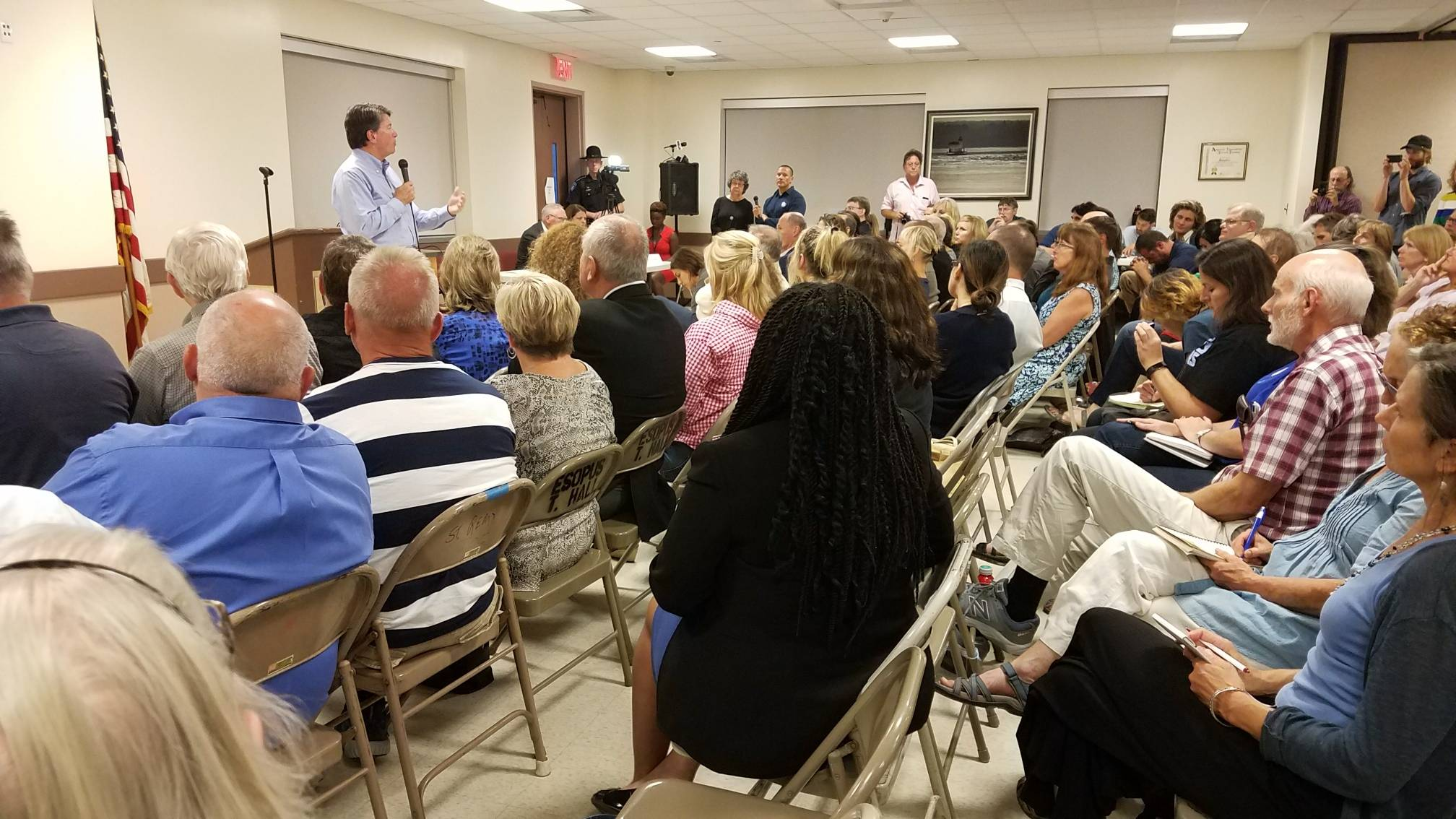 Rep. Faso holds second town hall