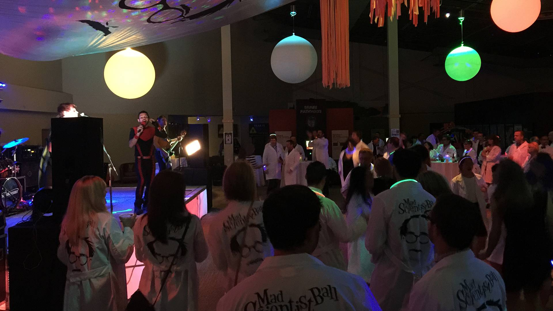 october fundraiser roundup: mad scientist ball, halloween parties, more