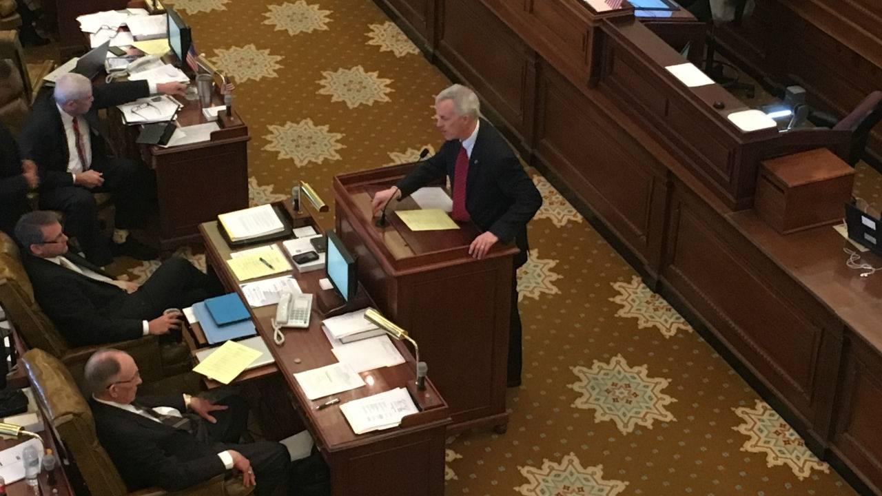 "Sales Tax Diversion Bill Called ""Fantasy"" by Senator"