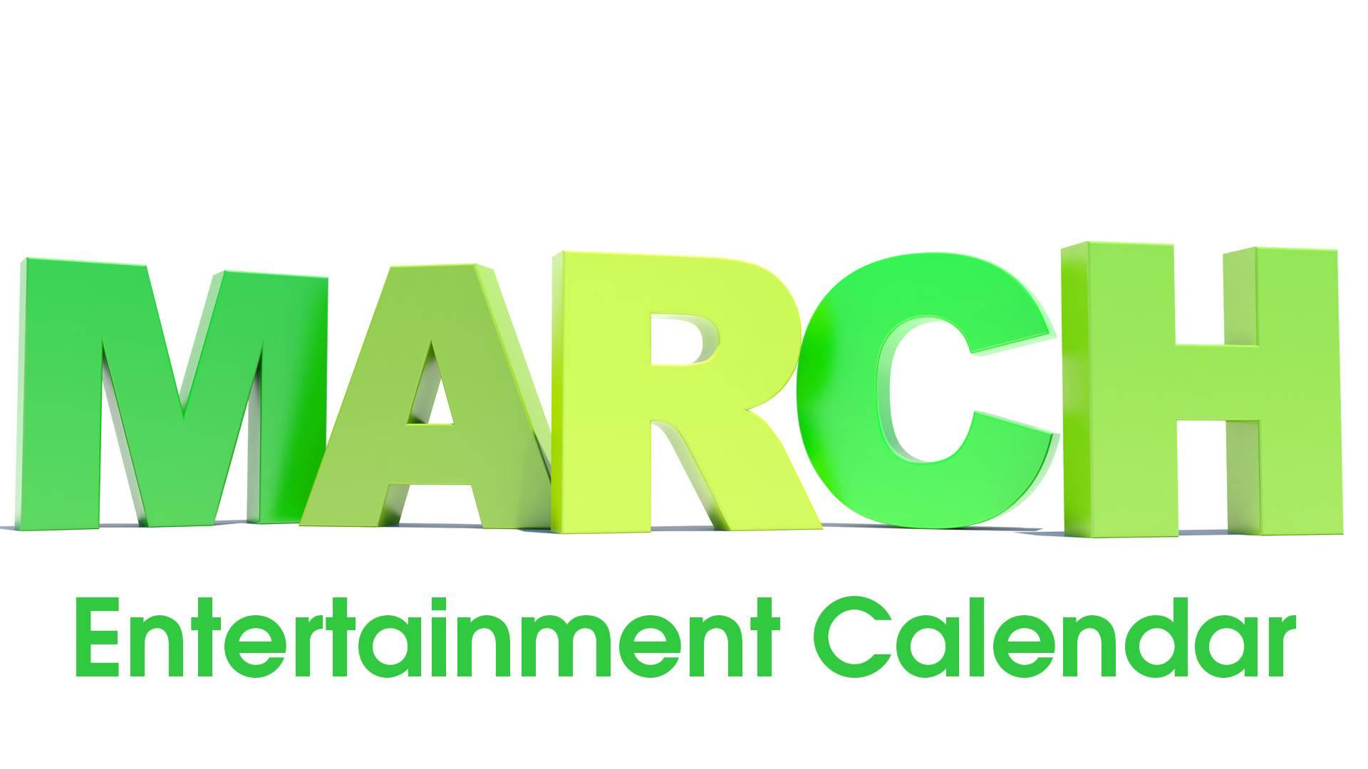 7351e0bb9 March entertainment calendar: Willie Nelson, Chicago, 'Dirty Dancing ...