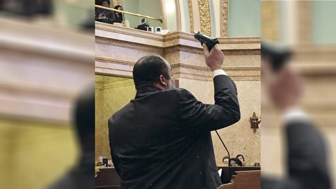 Bill would allow schools to arm staff, bans guns at sporting events