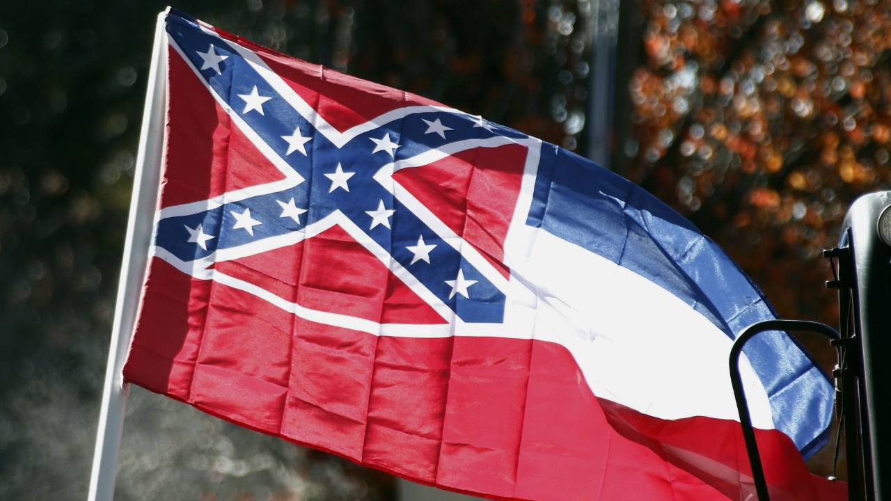Suit: Mississippi flag's rebel symbol 'racially demeaning'