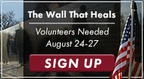 The Wall That Heals - Volunteers Needed!