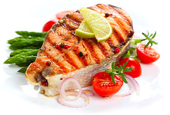 Protein can be found in fish