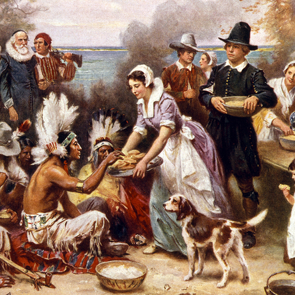 The First Official Thanksgiving
