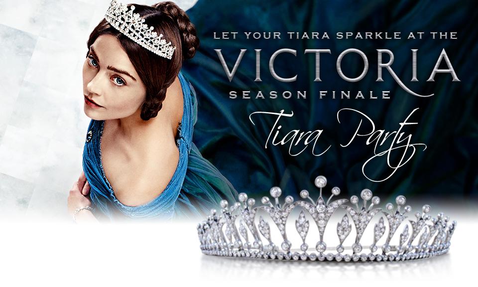 Victoria Season Finale Tiara Party
