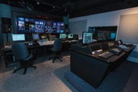 WMHT Production Services Control Room