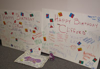 Clifford's Birthday Cards