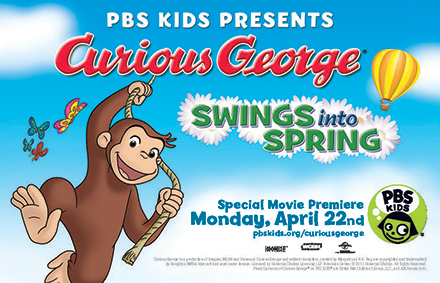 Curious George Swings into Spring!