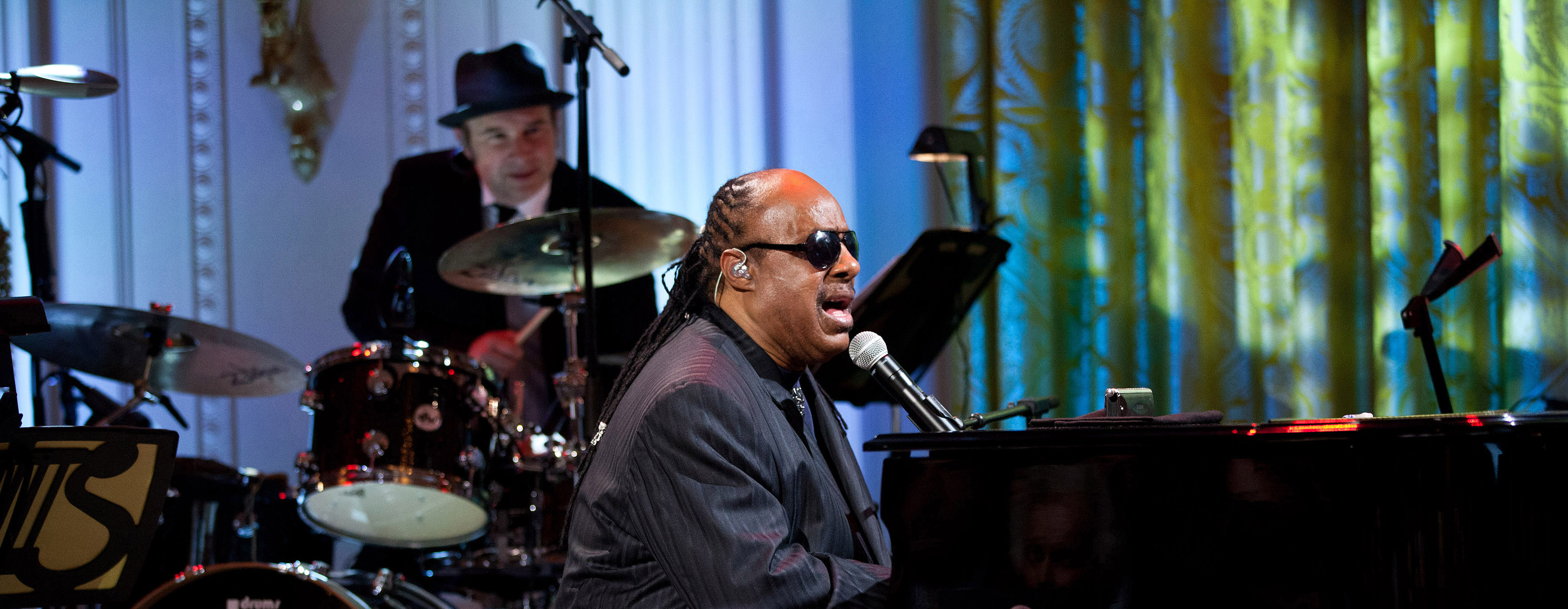 "Stevie Wonder, performer in ""Burt Bacharach & Hal David: The Library of Congress Gershwin Prize for Popular Song In Performance at the White House."""