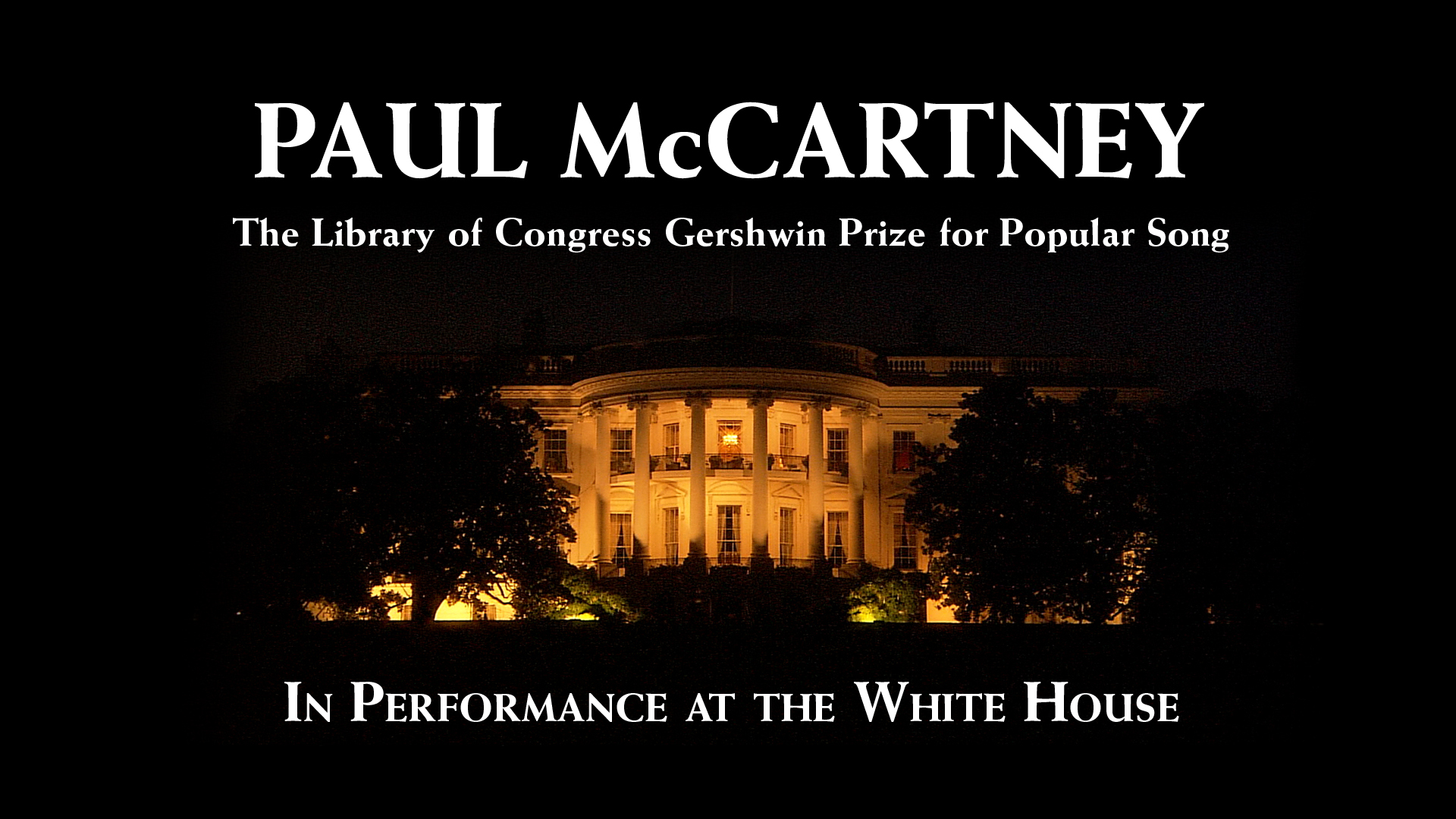 Shows in performance at the white house pbs for Performance house