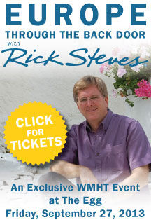 Get tickets to see Rick Steves at at exclusive WMHT event at The Egg