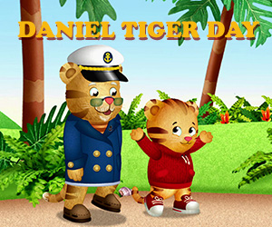 Daniel Tiger Day at Jacobsburg State Park