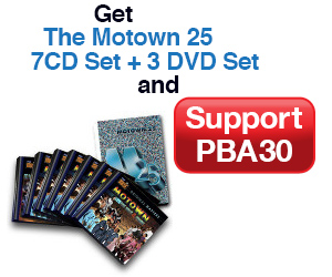 7CD Set and 3 DVD Set Motown 25