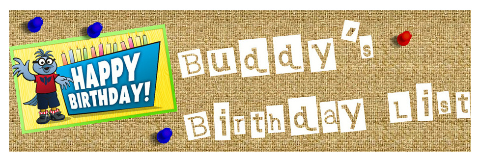 Buddy Birthdays