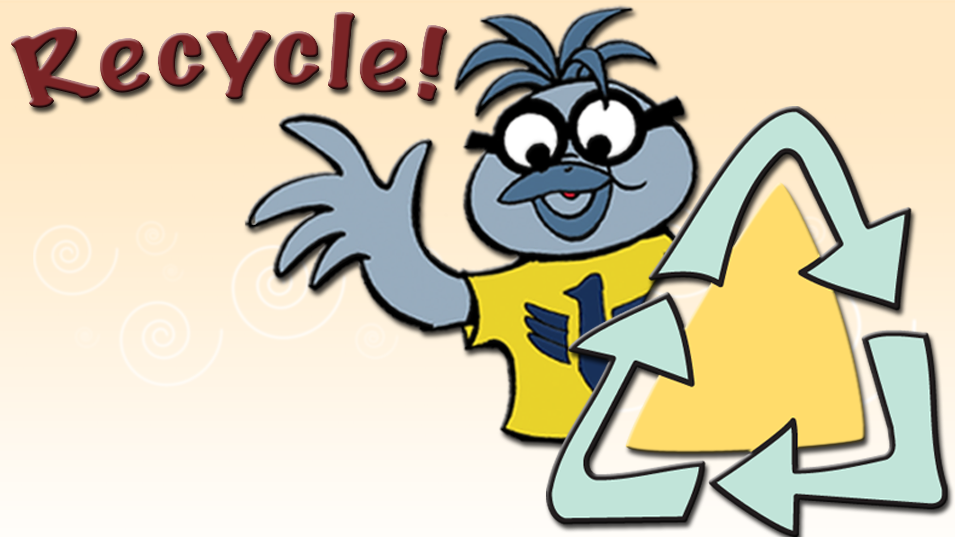 This month, Buddy the SDPB Kid promotes recycling!