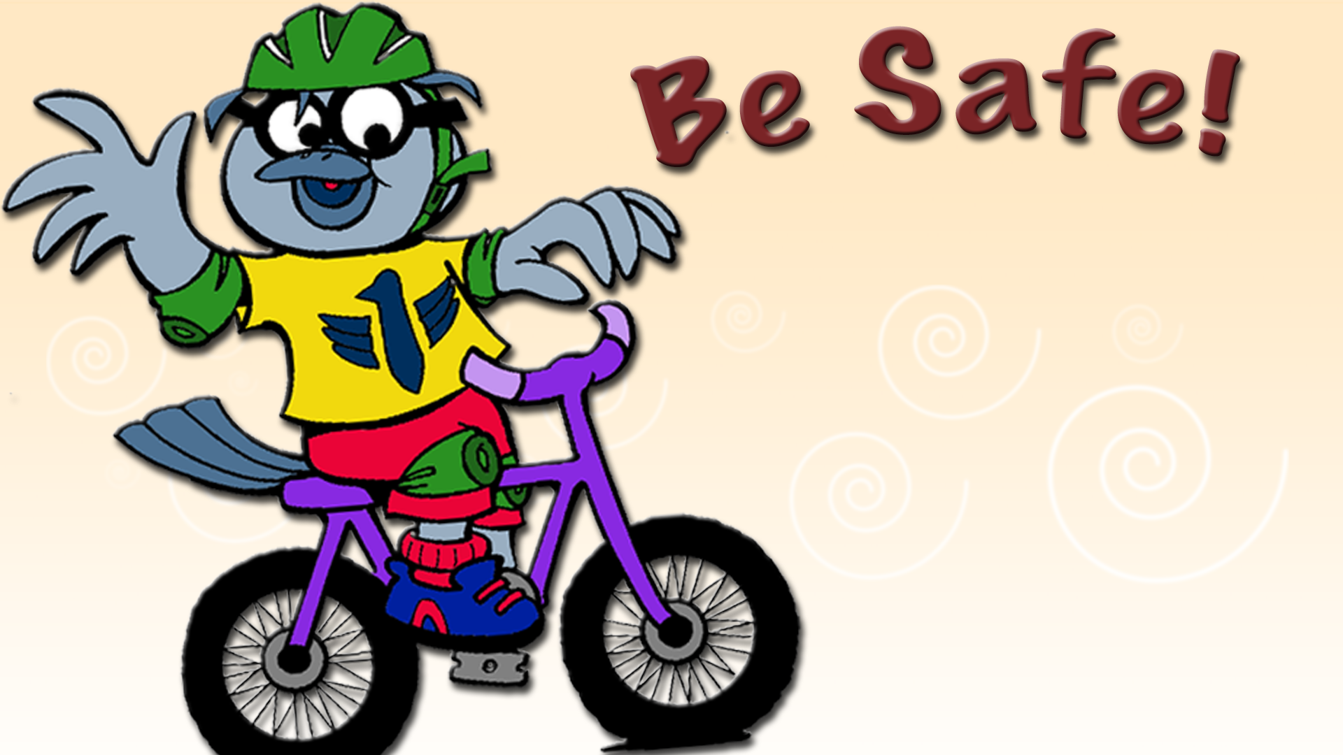 This month, Buddy the SDPB Kid promotes Safety!