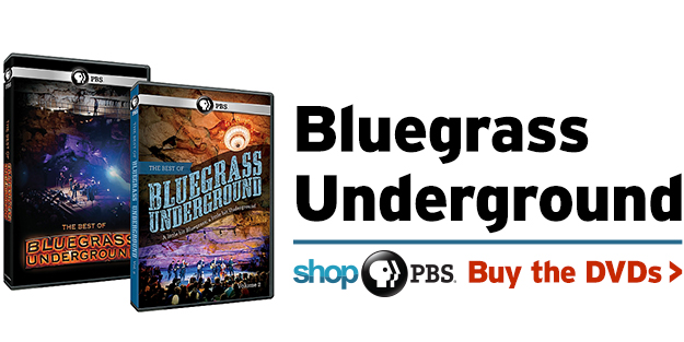 Shop PBS: Bluegrass Underground (DVDs)