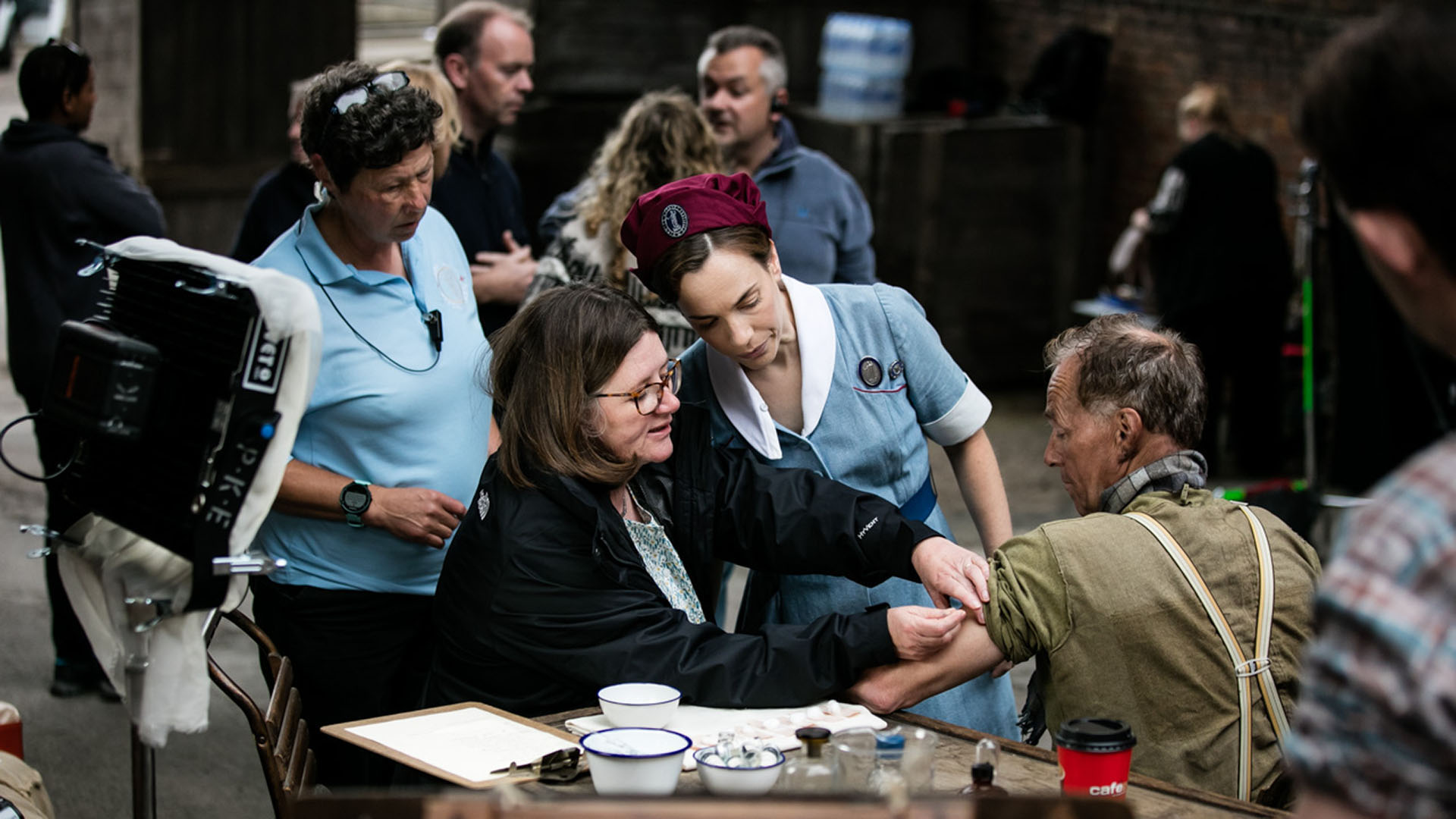 What it's Like to Film a Birth in Call the Midwife
