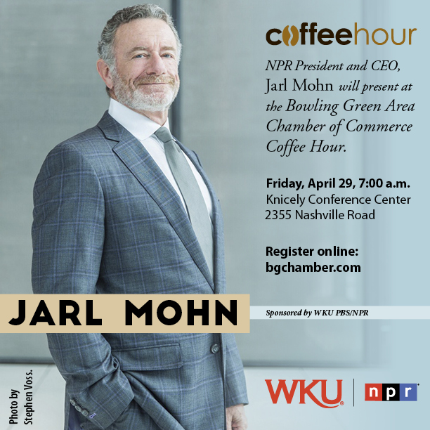 Jarl Mohn Coffee Hour