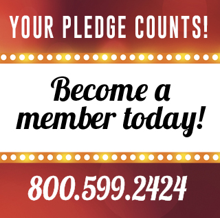 Your pledge counts! Become a member today!
