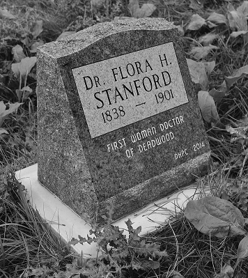 Flora Stanford Gravestone