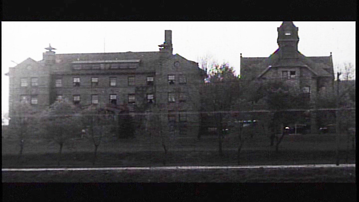 picture of augustana college main buildings in 1928
