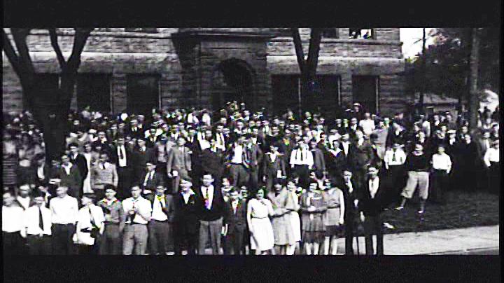 picture of washington high school, 1928