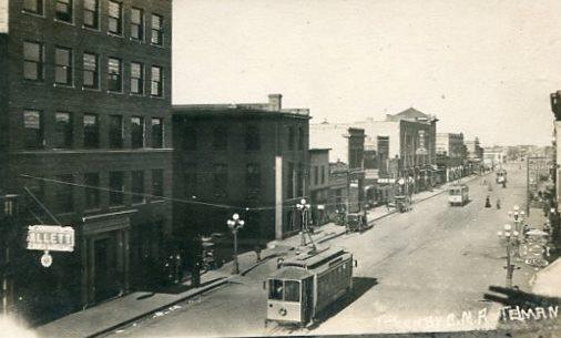 streetcars on main street
